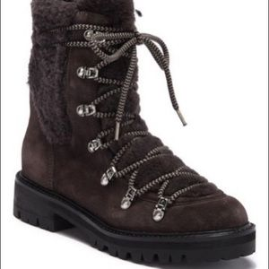 Sigerson Morrison Isla Suede Boot size 41